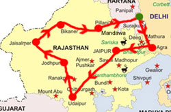 Golden Triangle Rajasthan