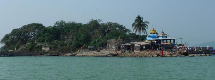 Kalijali Island Temple
