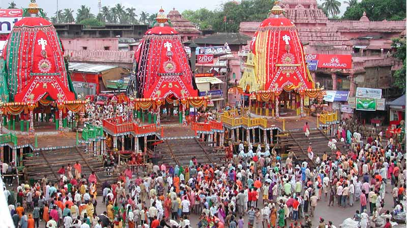 Lord Jagannath Rath Yatra Festival Puri With Tribal Wonders of Odisha