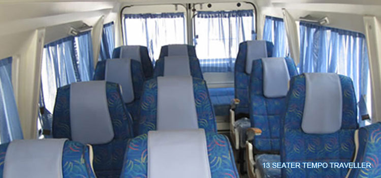 13-seater-tempo-traveller-interior