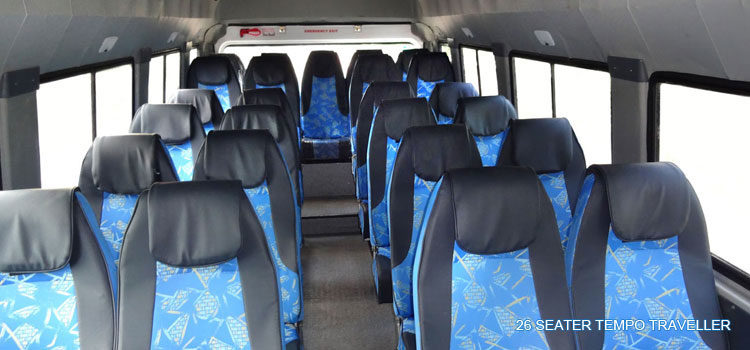 26-seater-tempo-traveller-interior